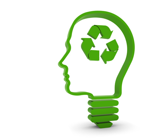 eco recycling -factory